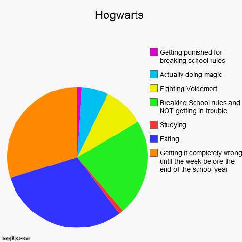 Pie Graph Worksheets High School as Well as Hogwarts Funny Pie Charts