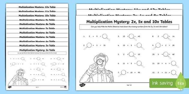 Place Value 10 Times Greater Worksheet Along with Multiplication Tables Missing Numbers Worksheet Activity