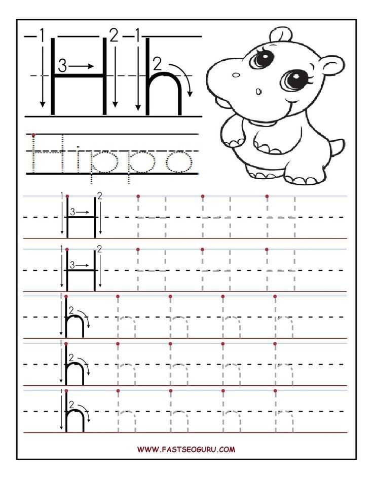 Pre K Writing Worksheets with 24 Best Letter H Preschool Activities Images On Pinterest