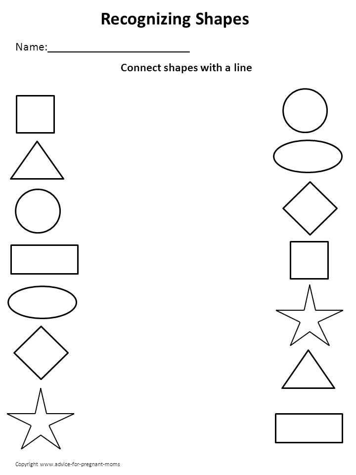 Preschool Learning Worksheets and 53 Best Kids Learning Images On Pinterest