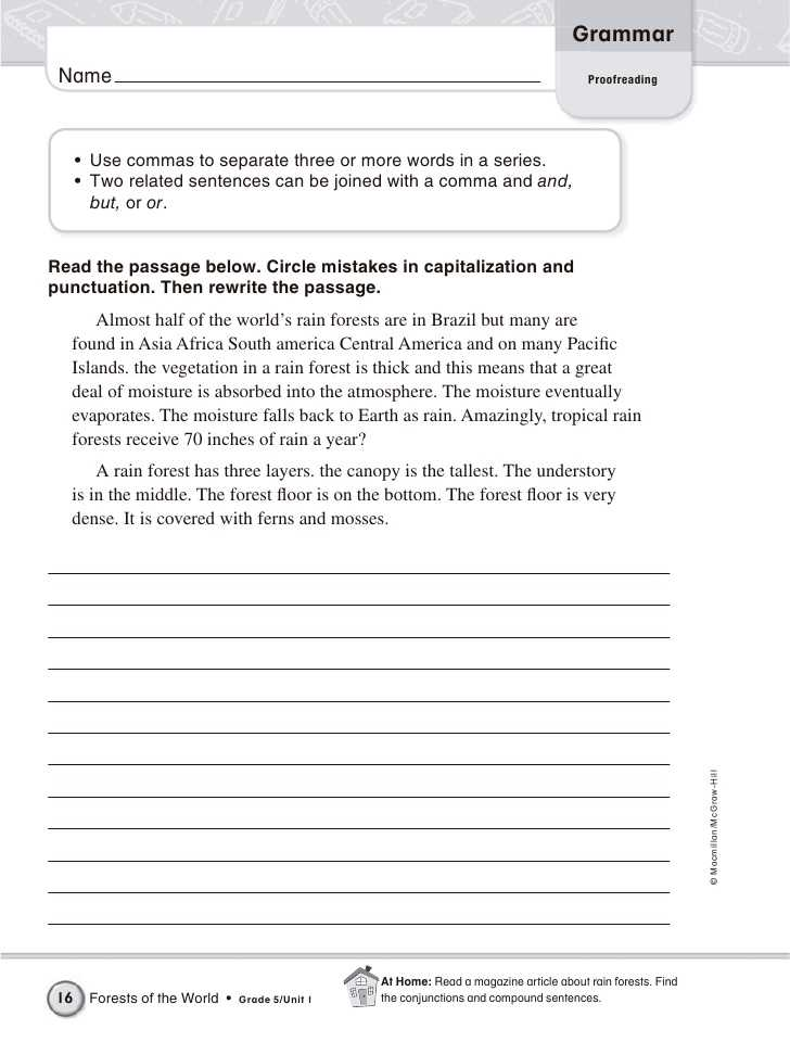 Proofreading Worksheets Pdf or Proofreading Test Pdf Patrofiloclub