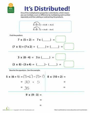 Properties Of Addition Worksheets and 57 Best Math Field Properties Images On Pinterest