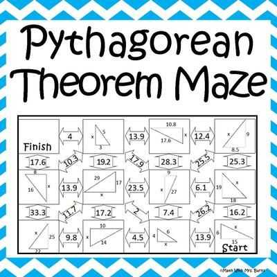 Pythagorean theorem Coloring Worksheet with 158 Best Math Pythagorean theorum Images On Pinterest