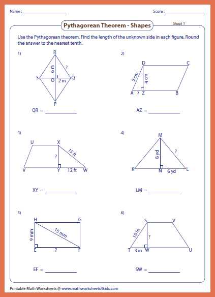 Pythagorean theorem Review Worksheet and Worksheets 50 Unique Pythagorean theorem Worksheet High Definition