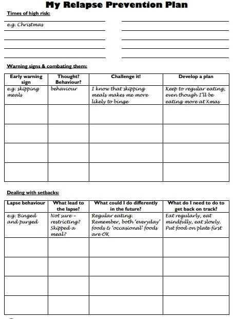Relapse Prevention Worksheets Pdf together with 19 Best Relapse Prevention Images On Pinterest