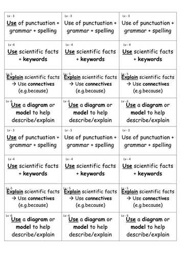 Science Skills Worksheet Answers Biology together with Ks3 Scientific Writing Skill assessment by Af7883 Teaching