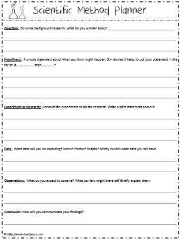 Scientific Inquiry Worksheet or 33 Best Science Notebook Scientific Method Images On Pinterest