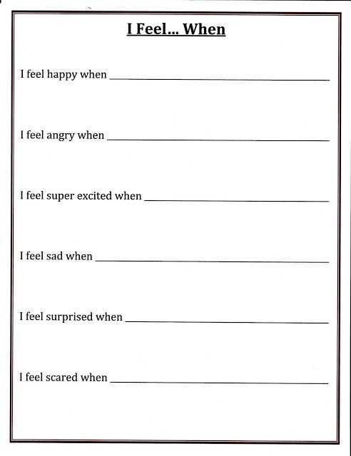 Self Esteem Worksheets for Teens and Self Esteem Worksheets