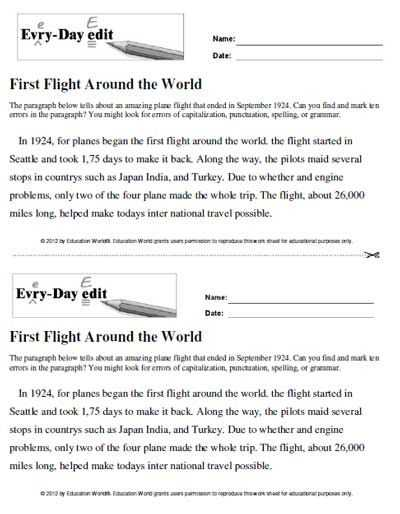 Sentence Editing Worksheets Also 198 Best 8 8 Grammar Editing Images On Pinterest