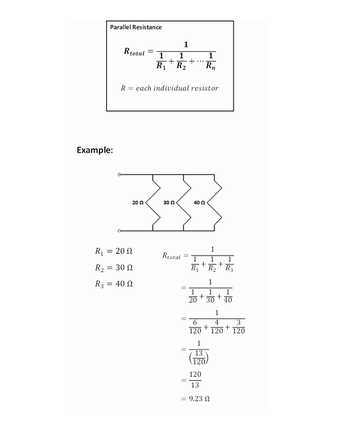 Series and Parallel Circuits Worksheet Answer Key Also How to Calculate Series and Parallel Resistance with Cheat Sheets