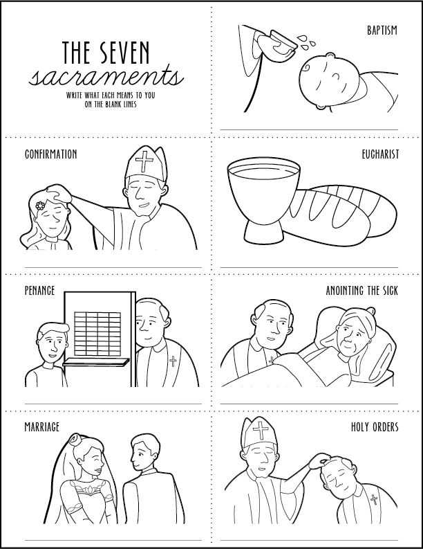 Seven Sacraments Worksheet Along with 64 Best the 7 Sacraments Images On Pinterest