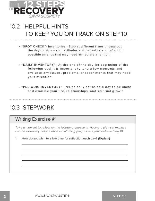 Sex Inventory Worksheet Along with the 12 Steps Of Recovery Savn sobriety Workbook