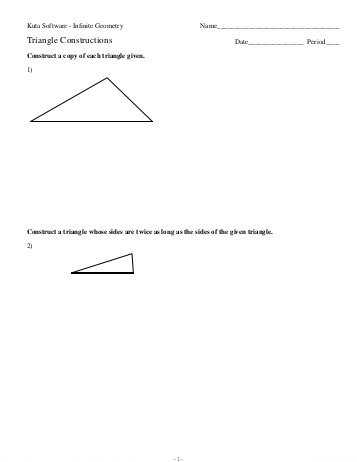 Sierpinski Triangle Worksheet Along with Triangle Pdf Thinkpawsitive
