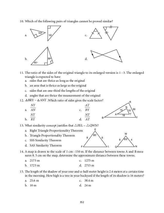 Similar and Congruent Figures Worksheet Along with Congruent Triangles Worksheet Grade 9 Kidz Activities