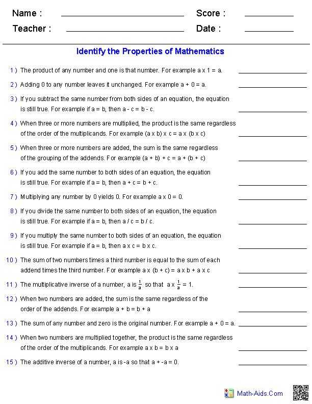 Simple Equations Worksheet with What is Aids Worksheet