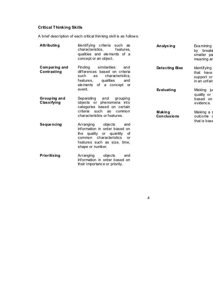 Skills Worksheet Critical Thinking Analogies Environmental Science and Hsp Science Year 3