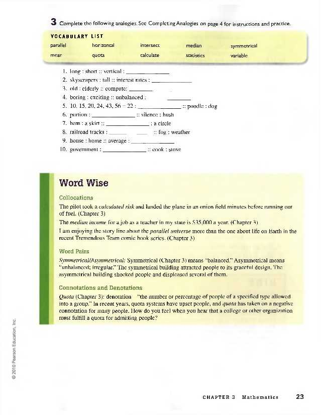 Skills Worksheet Critical Thinking Analogies Environmental Science as Well as Academic Vocabulary