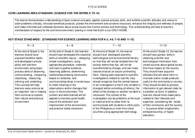 Skills Worksheet Critical Thinking Analogies Environmental Science as Well as K to 12 Science Curriculum Guide