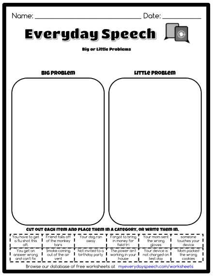 Social Skills Scenarios Worksheets Also Worksheets