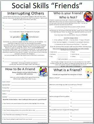 Social Skills Worksheets for Adults with social Skills Worksheets Conflict and social Skills social Skills