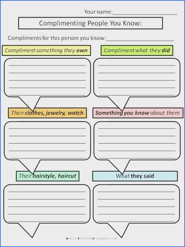Social Skills Worksheets for Teens with social Skills Worksheets for Kids Choice Image Worksheet Math for Kids