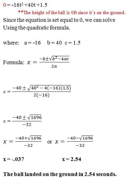 Solving Polynomial Equations Worksheet Answers with Word Problems Involving Quadratic Equations