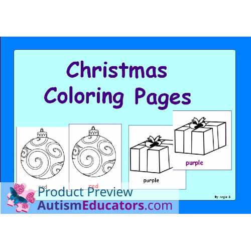 Special Education Worksheets Along with Free Winter and Christmas Coloring Worksheets