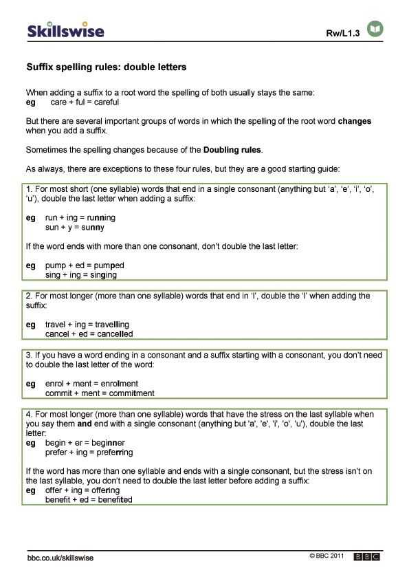 Spelling Rules Worksheets and Rules for Adding Suffixes Worksheets Yahoo Image Search Results