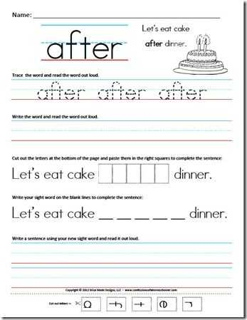 Spelling Word Worksheets or Sight Word Sentence Worksheets From Confessions Of A Homeschooler