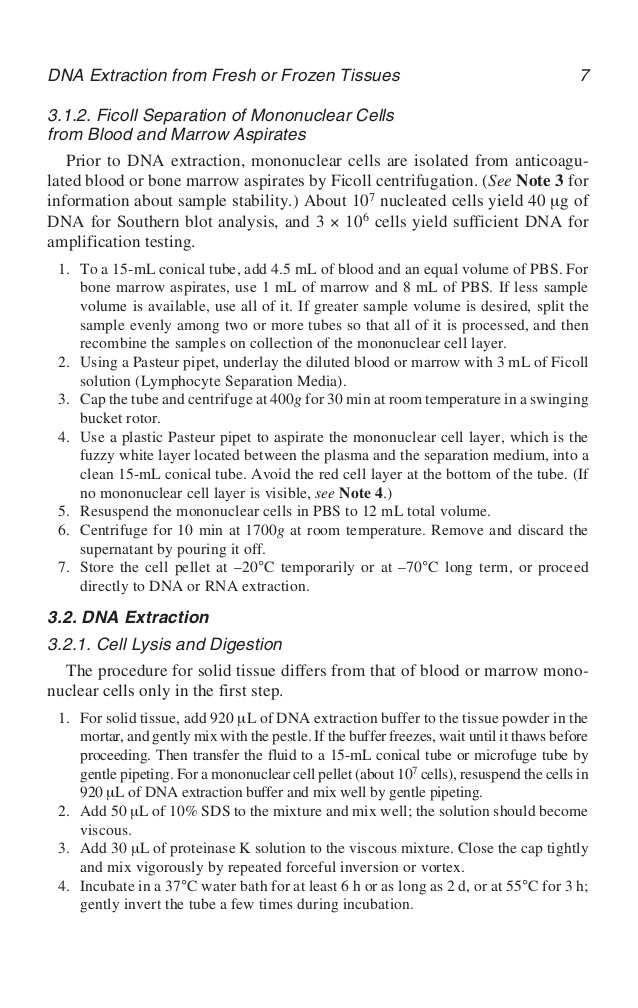Strawberry Dna Extraction Lab Worksheet Also Dna Extraction From Fresh or Frozen Tissues 3 638 Cb=