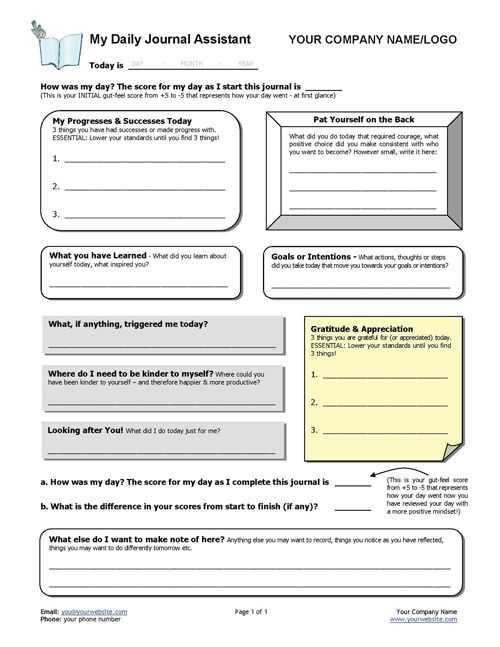 Stress Portrait Of A Killer Worksheet Also Daily Gratitude Diary Template