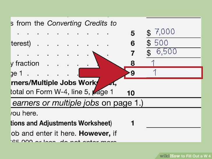 Student Loan Interest Deduction Worksheet 2016 as Well as How to Fill Out A W‐4 with Wikihow