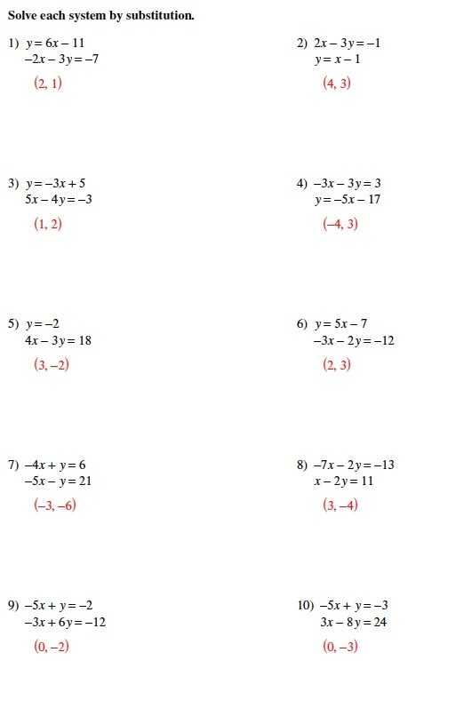 Systems Of Equations Substitution Worksheet as Well as Worksheets 44 Best solving Systems Equations by Elimination
