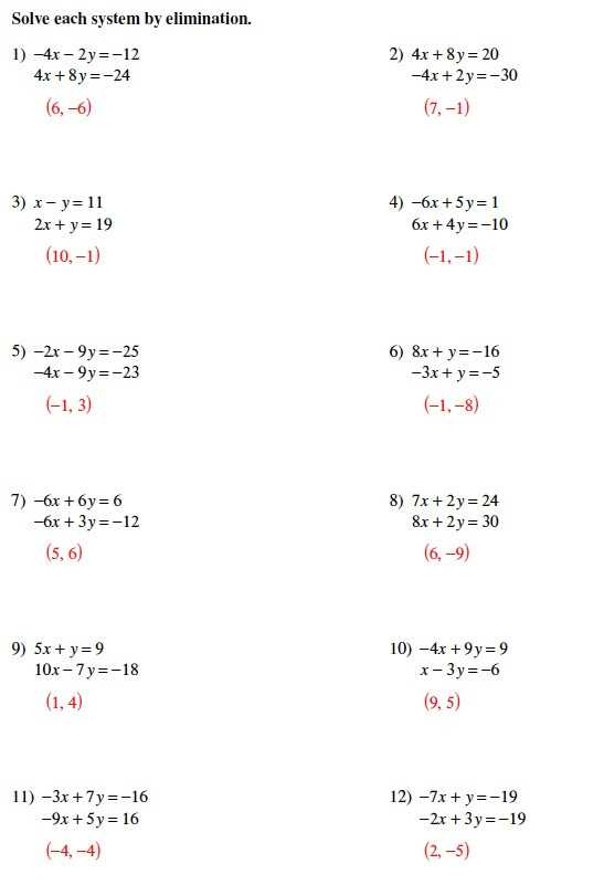 Systems Of Equations Substitution Worksheet with solving Systems Equations Algebraically Worksheet Best Systems