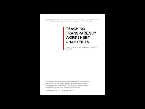 Teaching Transparency Worksheet Answers Chapter 9 Along with Transparency Worksheet Answers Kidz Activities