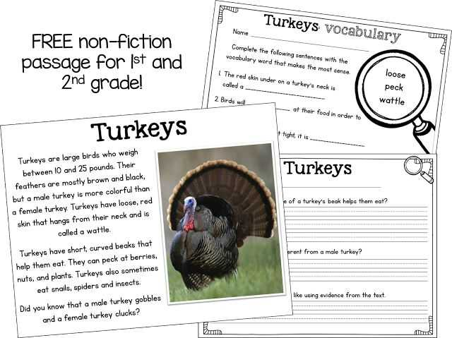 Thanksgiving Reading Comprehension Worksheets Also 44 Best Thanksgiving Classroom Images On Pinterest