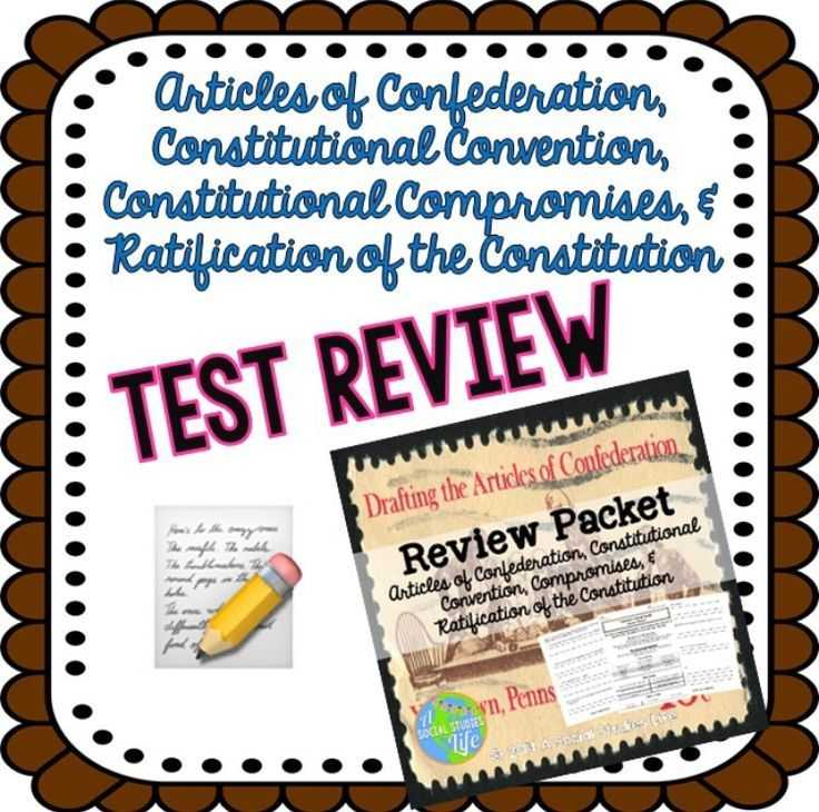 The Constitutional Convention Worksheet Answer Key Also 71 Best Articles Of Confederation Images On Pinterest