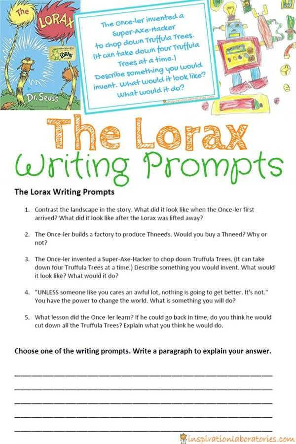 The Lorax Movie Worksheet Answers and 381 Best Dr Seuss Activities Images On Pinterest
