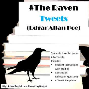 The Raven Worksheets for Middle School Along with the Raven Teaching Resources