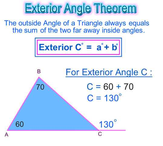 Triangle Interior Angle Worksheet Answers and Worksheet Triangle Sum and Exterior Angle theorem Answers Fresh