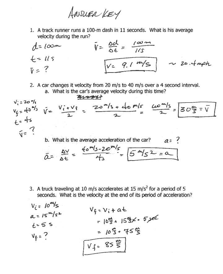 Velocity Acceleration Worksheets Answer Key with 21 New Graphing Speed Vs Time Worksheet Answers