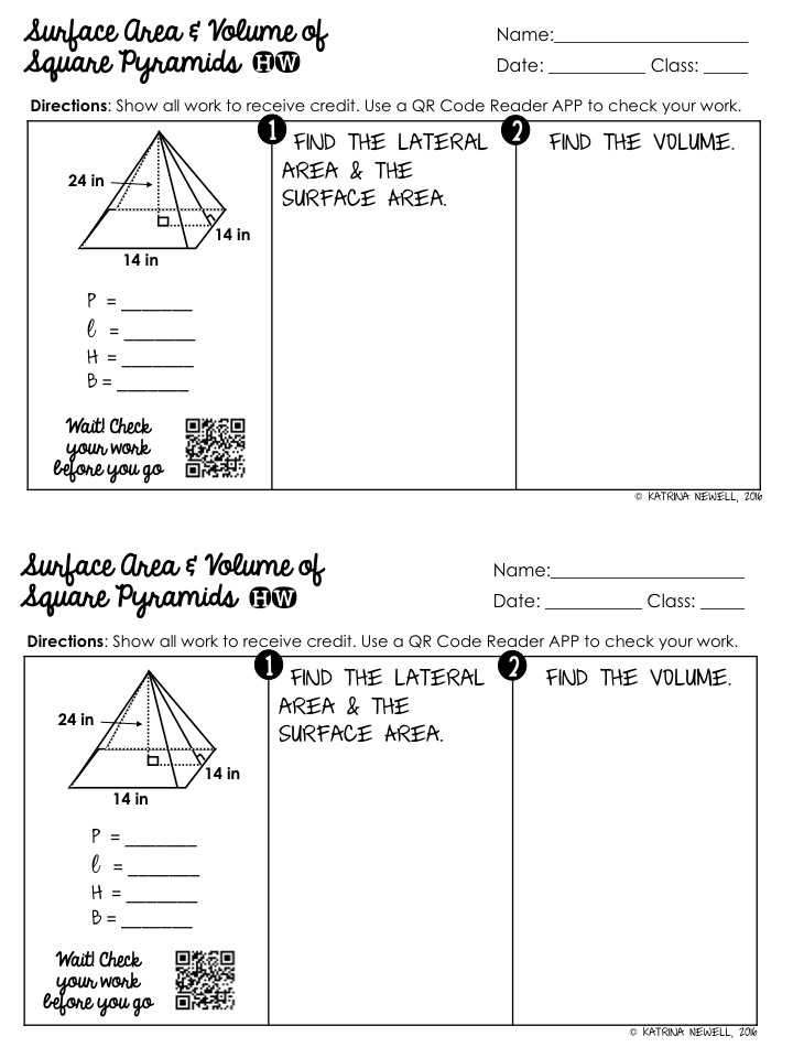 Volume Of Prisms Worksheet or Geometry Surface area and Volume Worksheet Answers Worksheets for