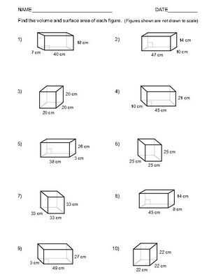 Volume Rectangular Prism Worksheet Answers Also 382 Best Pdf Images On Pinterest
