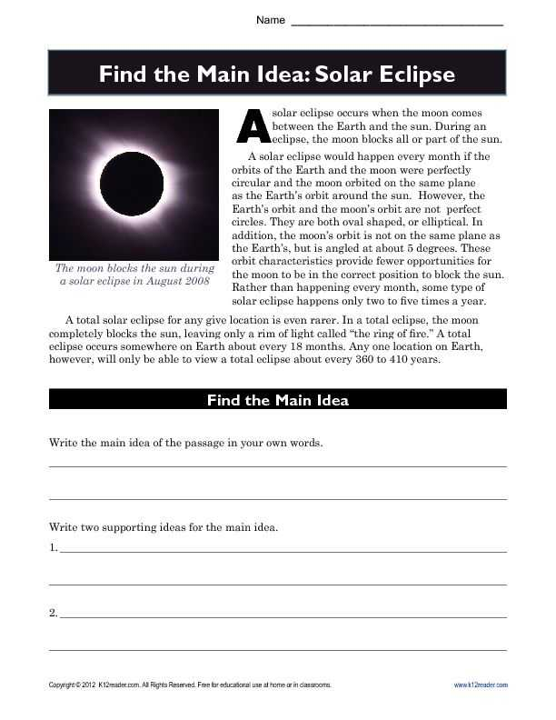 Walden Worksheet Answers or 97 Best Main Idea Reading Prehension Passages Images On Pinterest