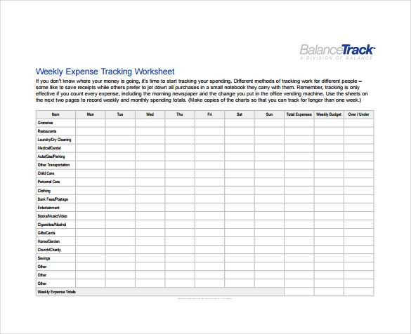 Weekly Budget Worksheet Pdf together with Free Expenses Sheet Guvecurid