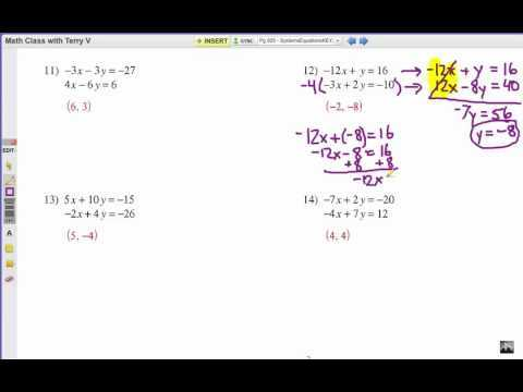 Worksheet 3 Systems Of Equations Substitution and Elimination Answers Along with Worksheets 49 Awesome solving Systems Equations by Substitution