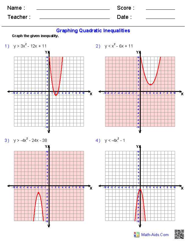 Worksheet Graphing Quadratic Functions A 3 2 Answers as Well as Exponential Functions and their Graphs Worksheet Answers Worksheets