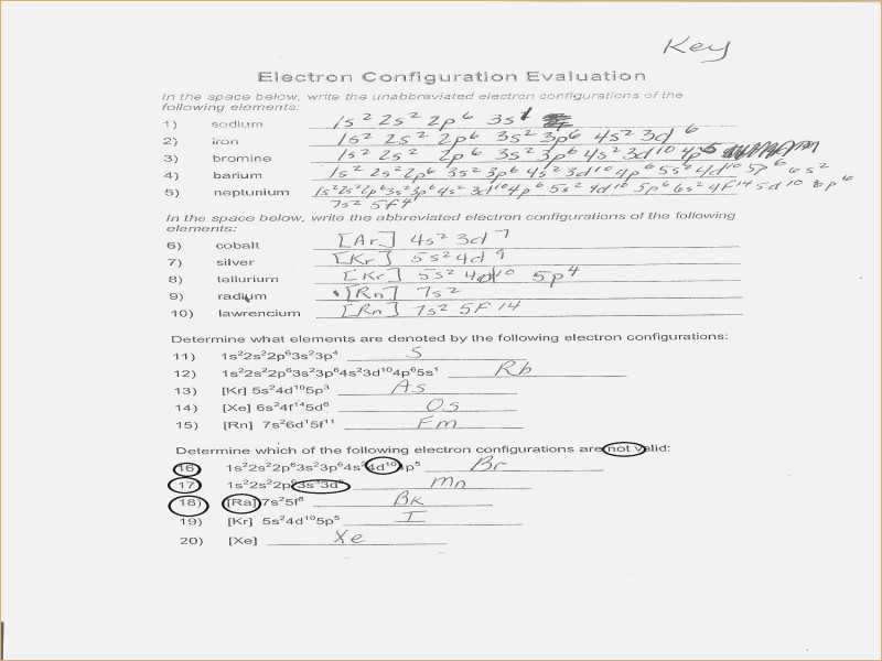 Writing Electron Configuration Worksheet Answers and Worksheets 43 New Electron Configuration Practice Worksheet Hi Res
