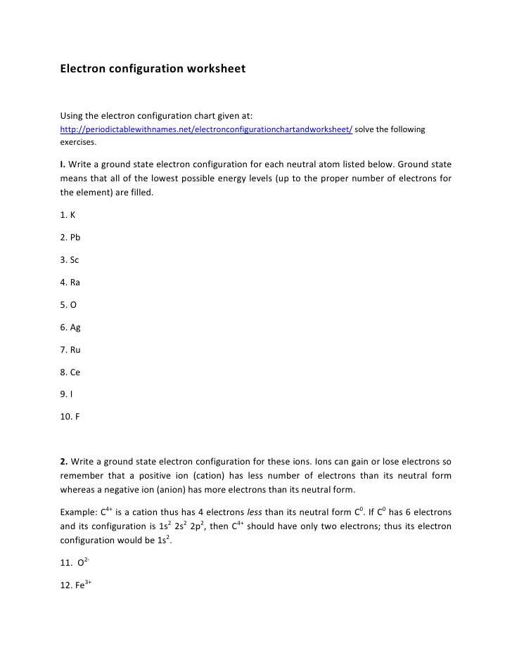 Writing Electron Configuration Worksheet Answers or Worksheets 43 New Electron Configuration Practice Worksheet Hi Res
