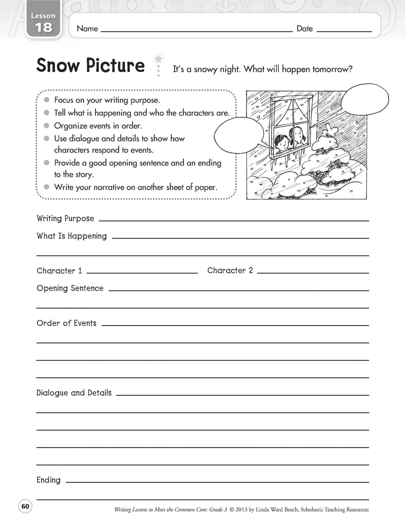 3rd Grade Essay Writing Worksheet and Second Grade Writing Worksheets Choice Image Worksheet for Kids In